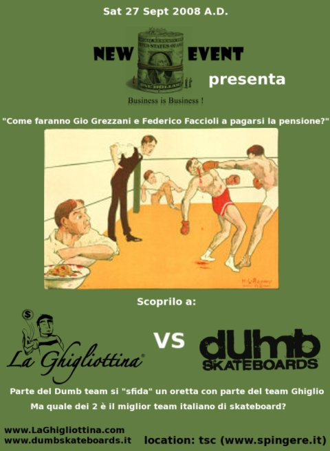 LaGhigliottina v.s Dumb Skateboards