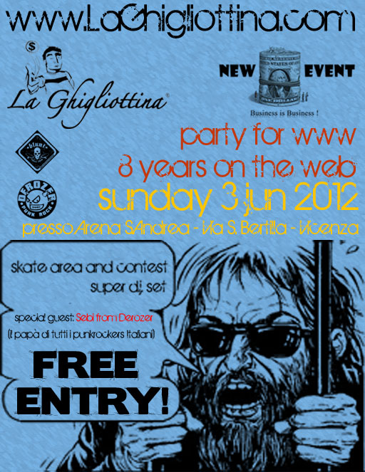 LaGhigliottina party for www - 8 years